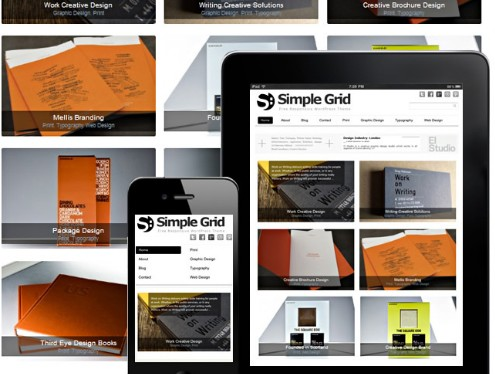 Simple Grid : Free Wordpress Responsive Theme