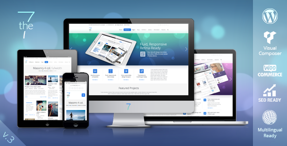 the7 Multipurpose Wordpress theme