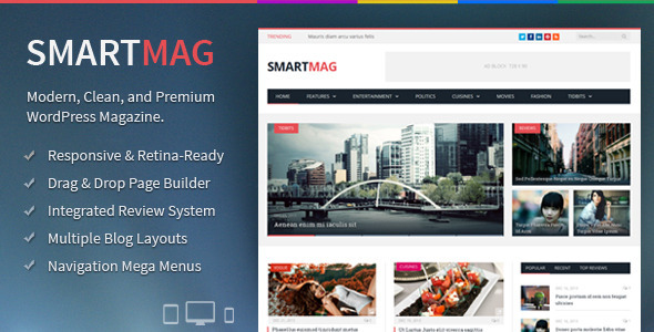 smartmag wordpress theme review