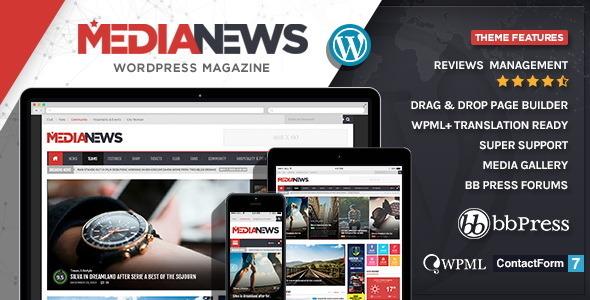News Magazine Premium Theme 2014
