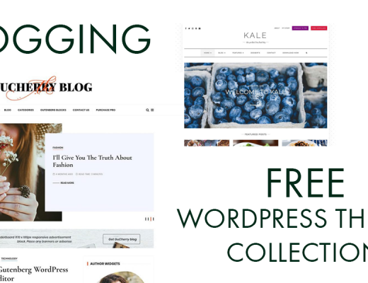 Best Blogging WordPress Themes Collection