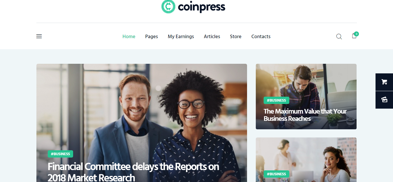 Coinpress-wordpress-theme