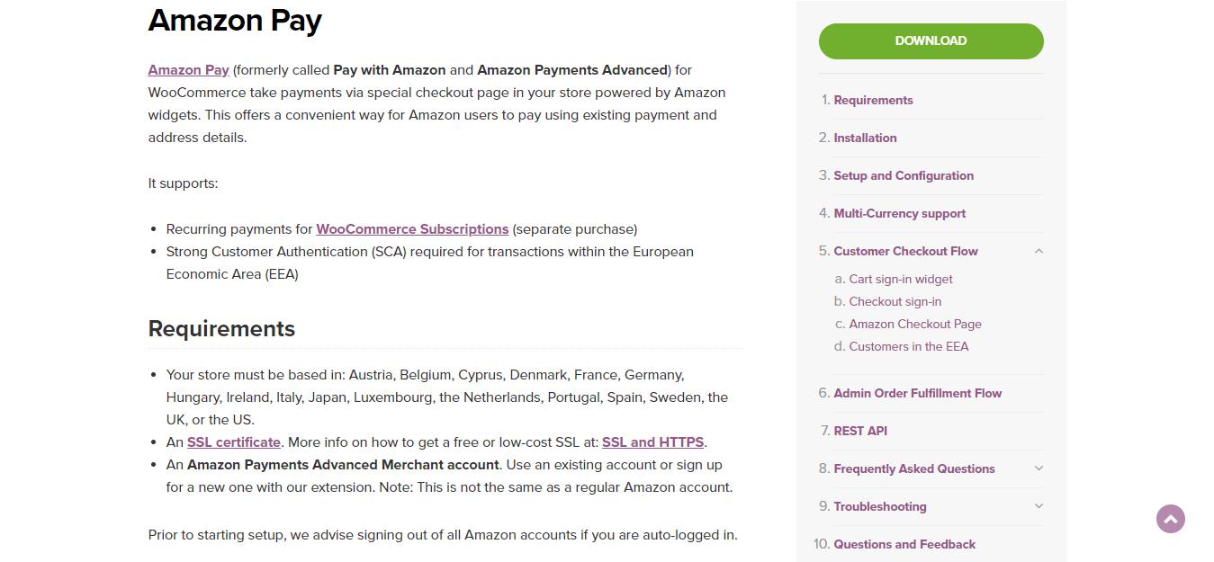 Amazon Payment Gateway