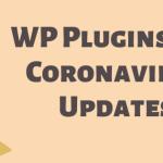 Coronavirus upate WordPress Plugin