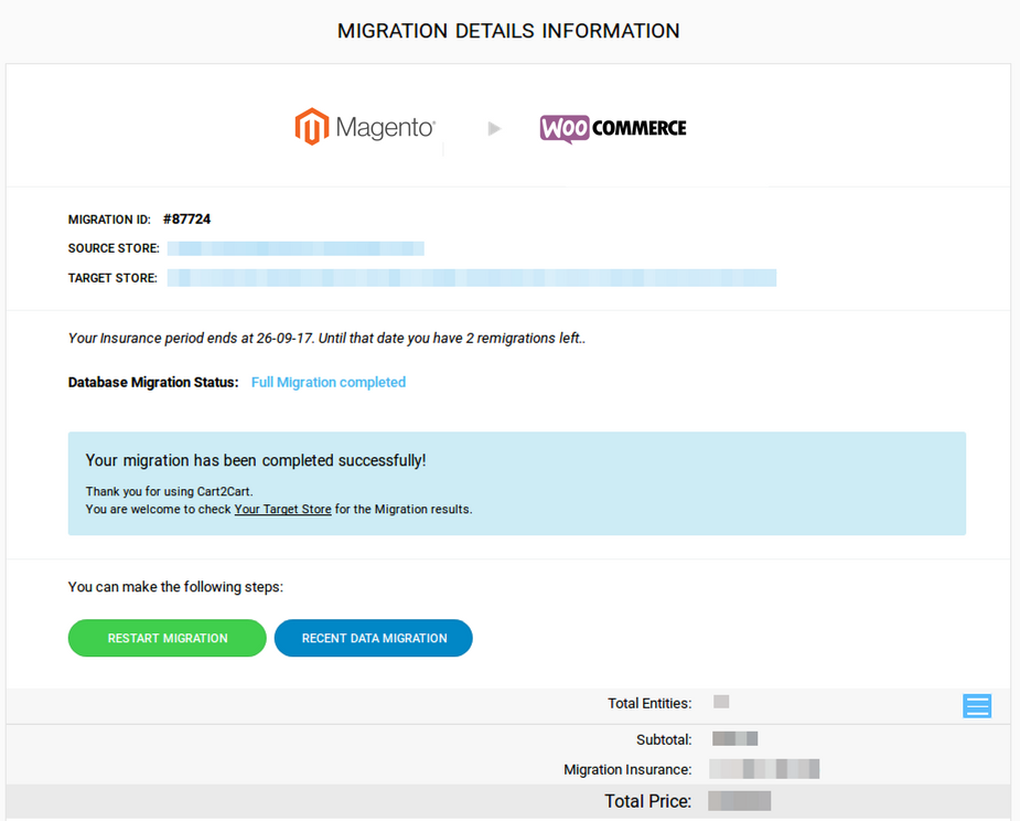 Cart2Cart: Magento to Woocommerce Migration