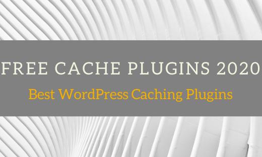 Best-free-wp-cache-plugins