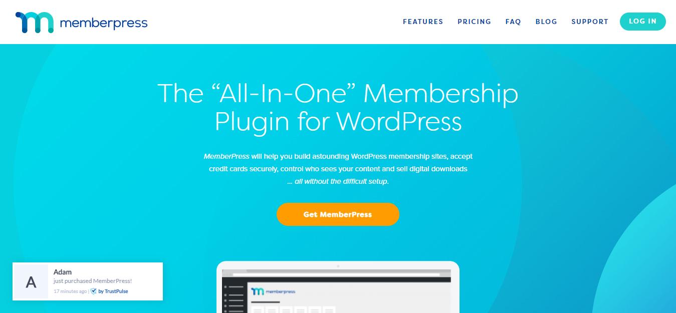 MemberPress WP membershp Plugin