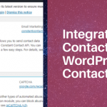 How to connect Constant Contact with WordPress Contact Form 7